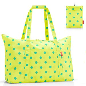 Сумка складная Mini maxi travelbag lemon dots от Reisenthel арт. AG2025